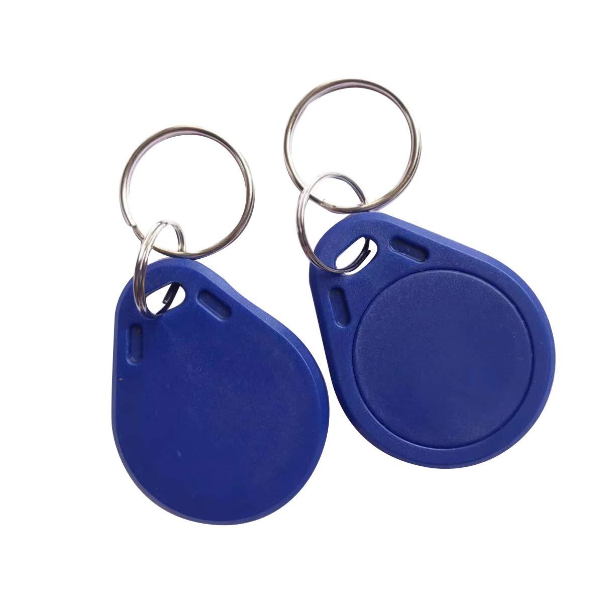 YARONGTECH MIFARE Classic® 1K etiqueta RFID ISO14443A Llaveros 13,56mhz ABS IC NFC Etiquetas para control de acceso (Pack de 100)