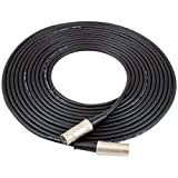 GLS Audio 20-Feet MIDI Musical Instrument Digital Interface Cable 5 Pin DIN All 5 Pins Wired 20ft