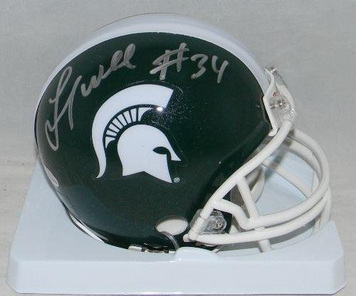 Lorenzo White Signed Autographed Michigan State Spartans Mini Helmet Gtsm GTSM Certified Autographed College Mini Helmets