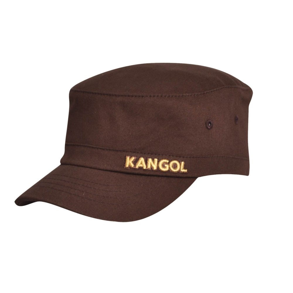Kangol Kid Cotton Twill Army Tobacco Kids S/M