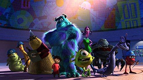 Disney Pixar Art Monsters Inc. Lithograph Portfolio Animation Set