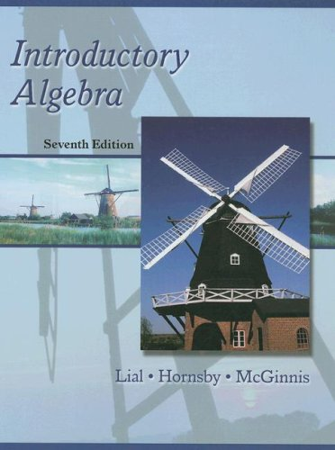 Introductory Algebra (Hardcover) (7th Edition)
