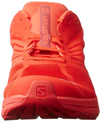Salomon Lab Sonic 2, Scarpe da Trail Running Unisex - Adulto Rosso/Bianco (Racing Red/Molten Lava/White)