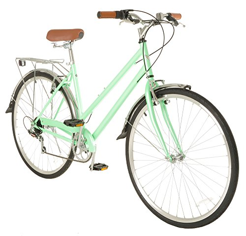 Best Price Vilano Women's Hybrid Bike 700c Retro City Commuter
