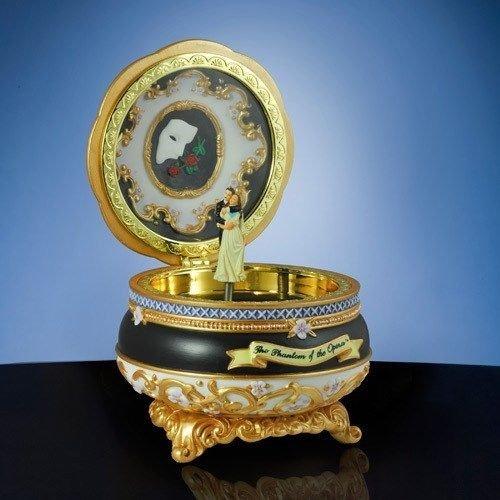 Music Box Trinket (Phantom of the Opera - Phantom and Christine - Hinged Trinket Box by San Fransisco Music Box Co.)