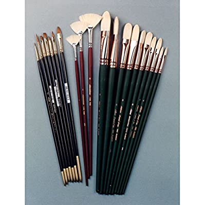 Silver Brush JHS-502 John Howard Sanden Portrait Student Brush Set, 20 Per Pack