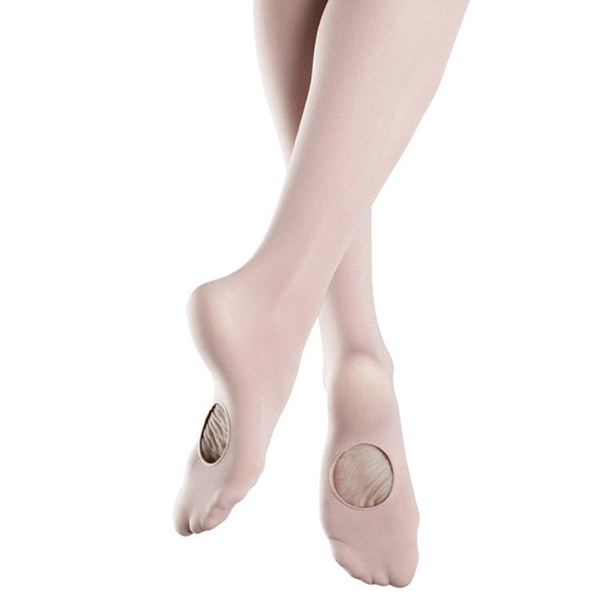 Pitping Girls Dance Convertible Transition Ballet Tights Stockings Socks
