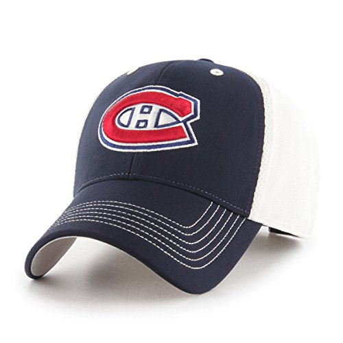 NHL Montreal Canadiens Sling OTS All-Star Adjustable Hat, Navy, One - Shop Montreal Hat