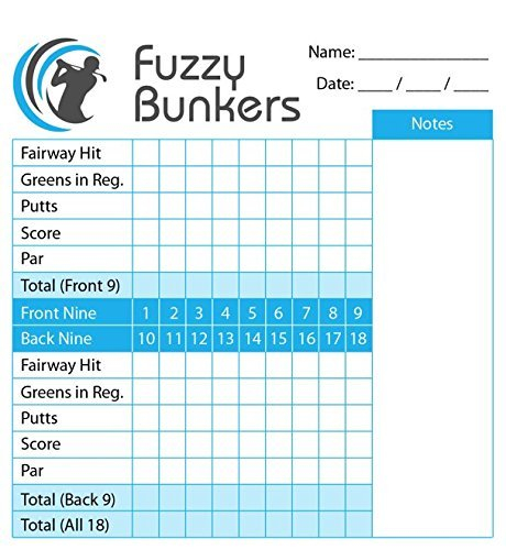 Yardage Book Cover Diy : Fuzzy bunkers golf scorecard holder and yardage book cover