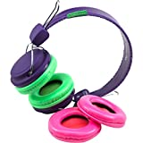 SMS Audio KidzSafe Girls DIY Headphones (Purple)