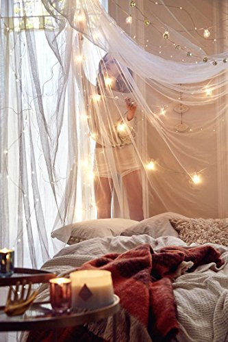 Cute College Dorm Decor Bundle Of A Round Mosquito Net Canopy With