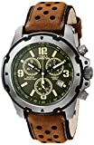 Timex Men's TW4B01400 Expedition Sierra Black Leather Strap Watch