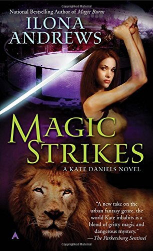 Book cover for Magic Strikes