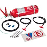 Lifeline USA 2.25L Foam Auto Racing Fire Bottle Extinguisher System Zero 2000