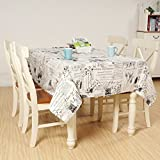 Country Linen Table Coffee TableCloths Cloth Background Cloth(Stamp,55x78.6In)
