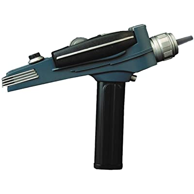 DIAMOND SELECT TOYS Star Trek: The Original Series: Black Handle Phaser Electronic Role Play: Toys & Games