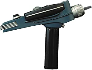 DIAMOND SELECT TOYS Star Trek: The Original Series: Black Handle Phaser Electronic Role Play