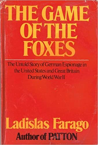 Image result for ladislas farago the game of the foxes