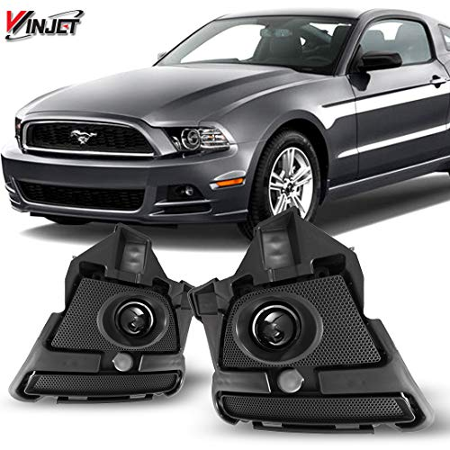 Ford Mustang Oem Wiring - Winjet WJ30-0438-09 OEM Series for [2013-2015 Ford Mustang] Clear Lens Driving Fog Lights + Switch + Wiring Kit