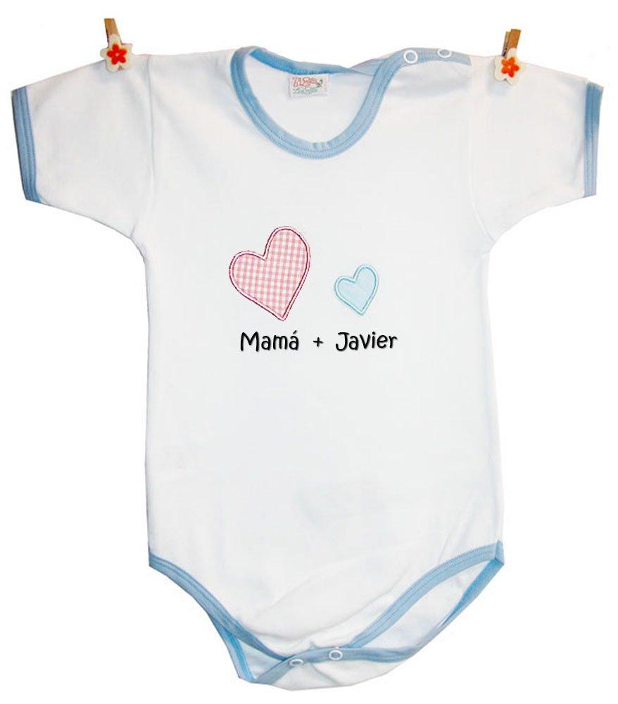 Zigozago - Body personalizado para Bebé s 'MAMA' + Nombre del niñ o'