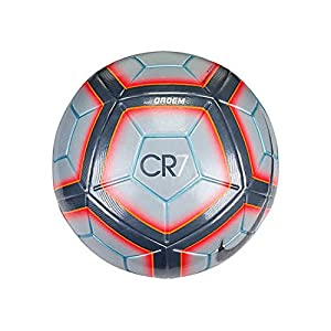 Nike Ordem 4 CR7 - Official Match Ball Soccer Ball Grey / Total Crimson / Metallic Hematite