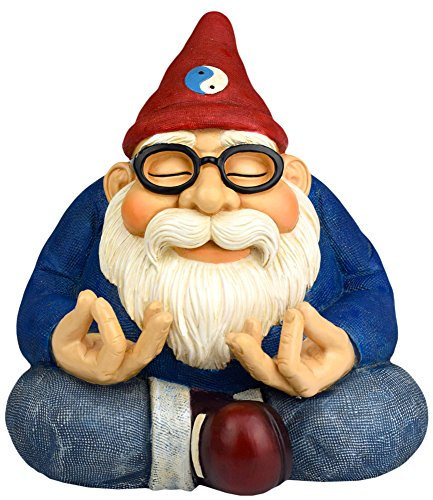 Twig & Flower The Ohm Gnome (Smiles and Serenity for Your Home Or Fairy Garden) by ()