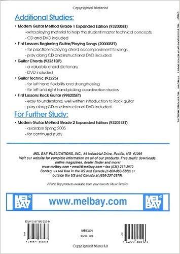 Mel Bays Modern Guitar Method, Grade 2: Mel Bay: 0796279000123 ...