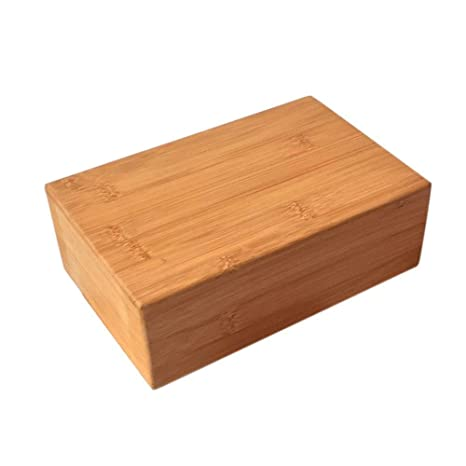 Amazon.com : ZSJZHB Bamboo-Wood Yoga Bricks, Pilates ...