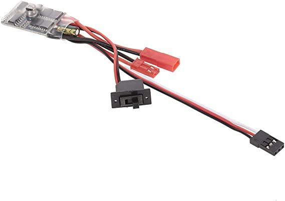 New 30A Independent Brushed ESC Speed Controller For WPL B-36// KIT//MN KIT series