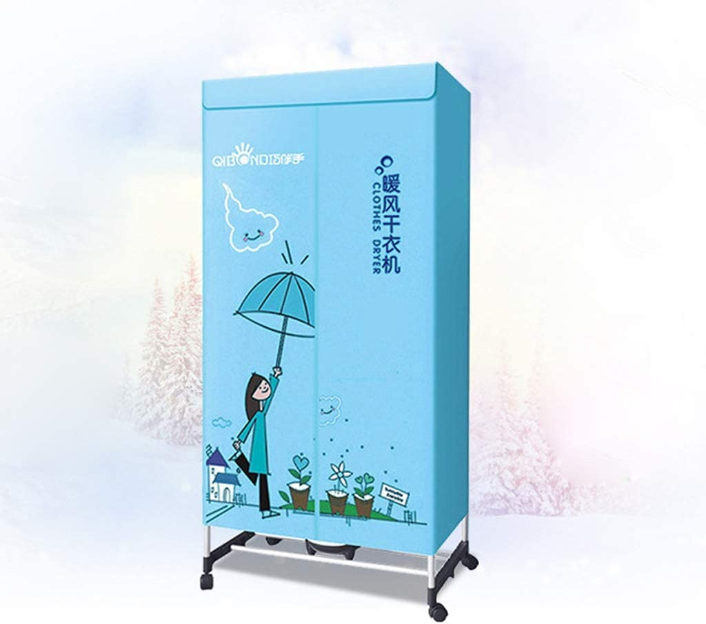 ZHAO ZHANQIANG Ropa portátiles multifunción de Secado rápido Caliente del secador de Aire Secadora, (Color : Blue-26): Amazon.es: Hogar
