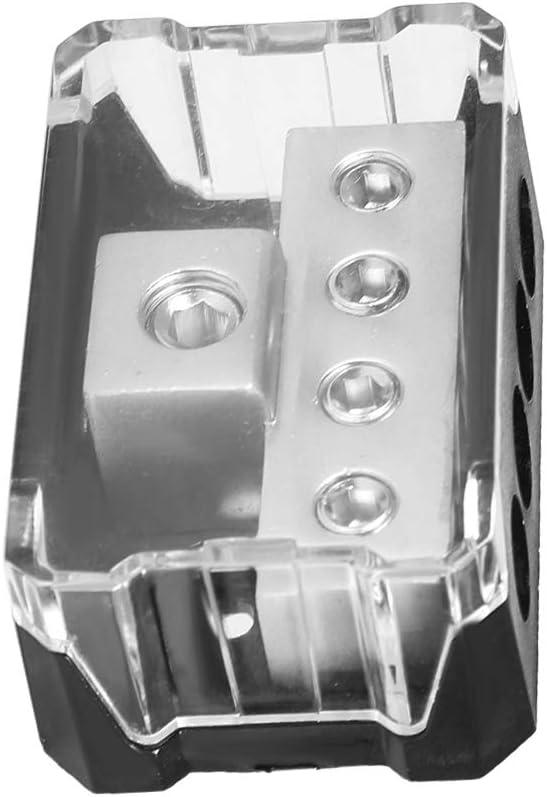 Power Distribution Blocks Car Audio Power Supply Distribution 10GA In 44GA Out Block Splitter