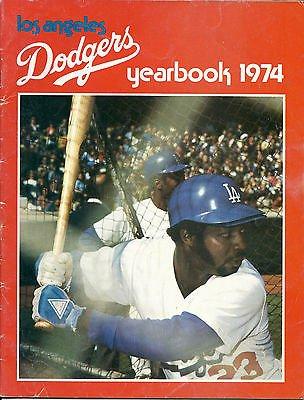 1974 Los Angeles Dodgers Yearbook