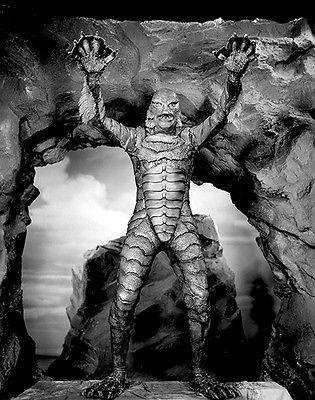 Creature From The Black Lagoon - 1954 - Movie Still Poster