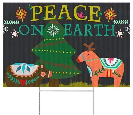Peace On Earth Outdoor Light in US - 2