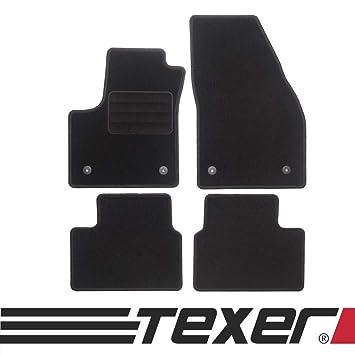 CARMAT TEXER Textil Fu/ßmatten Passend f/ür Opel Astra IV J Bj 2009-2018 Basic