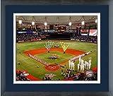 "Tropicana Field Tampa Bay Rays MLB Stadium Photo (Size: 18"" x 22"") Framed"