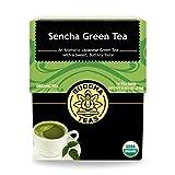 Organic Japanese Sencha Green Tea – Antioxidant Tea, Kosher, Contains Caffeine, GMO-Free – 18 Bleach Free Tea Bags For Sale