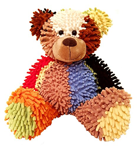 BUBO Teddy Bear - Multicolour 18 inch - Stuffed animals for girls and boys - Great plush toy gift for your loved (How To Wear A Santa Hat)