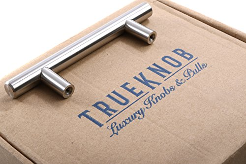(25 Pack) TrueKnob SOLID Stainless Steel Cabinet Pull Hardware | Brushed Satin Nickel Finish | 3'' Hole Centers | (25 PACK) by TrueKnob (Image #7)