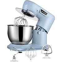 Aifeel Batidora Amasadora Reposteria, Robot de Cocina Multifuncion 1000W con tazón de 4 litros, varillas, gancho para…