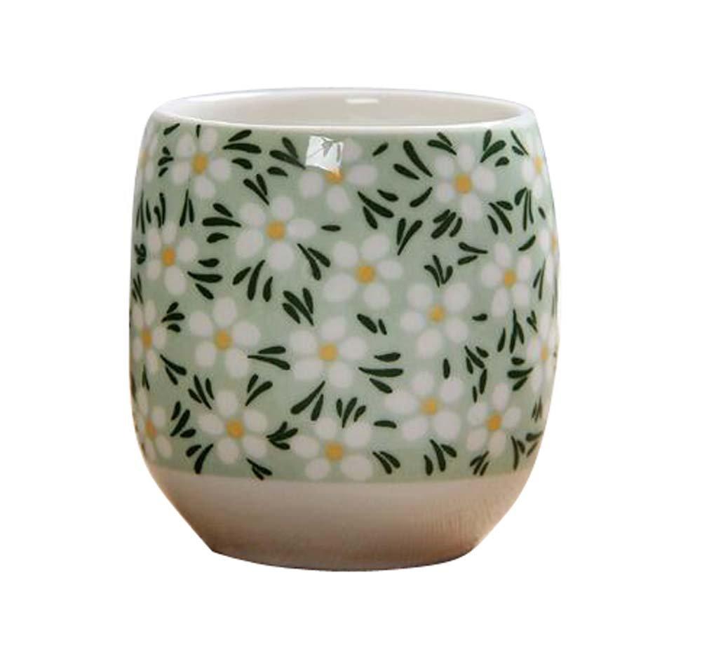 DRAGON SONIC Set Of 4 Retro Sake Cups Ceramics Cup Household Use/Restaurant Tea Cup-C1