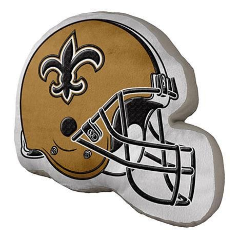 - The Northwest Company New Orleans Saints Helmet Shaped Pillow 15 by 12 inches NFL Licensed