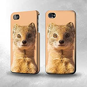 Apple iPhone 4 / 4S Case - The Best 3D Full Wrap iPhone Case - Mongoose by lolosakes