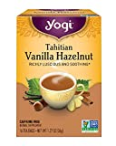 Yogi Tea, Tahitian Vanilla Hazelnut, 16 Count (Pack of 6), Packaging May Vary