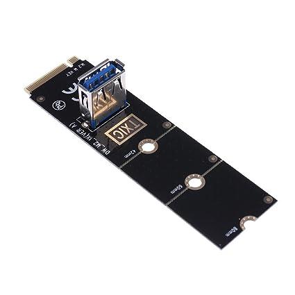 demiawaking M.2/NGFF a USB3.0 port convertidor adaptador ...