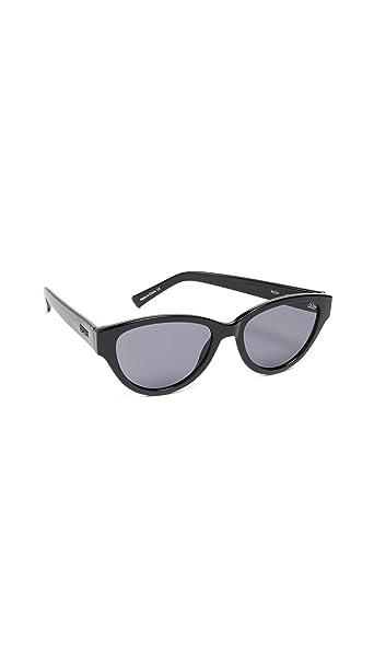 Amazon.com: Quay Mujer Rizzo anteojos de sol, negro, talla ...