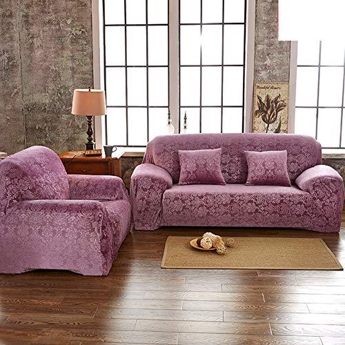 TT&CC Jacquard Sofa Covers,1 Piece Polyester Spandex Fabric Modern Sofa Slipcover Home Slip Resistant Stretch Sofa Protector-E Loveseats 145~185cm(57~73inch) from TT&CC