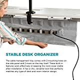 Under Desk Cable Management Tray and Cord