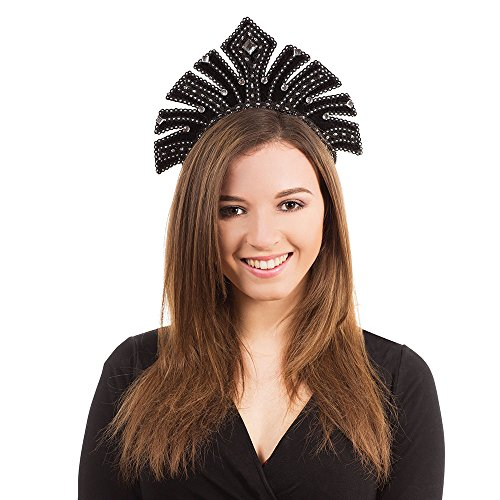 Bristol Novelty BA602 Carnival Headdress with Gems,