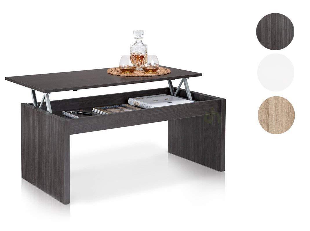 13Casa - Delfi B1 - Tavolino. Dim: 102x50x43 h cm. Col: Grigio. Mat: Melamina. F00530601007_GRIGIO
